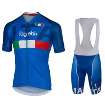 2016 Breathable Hot Design Italy Team Biking Jersey Ropa Ciclismo Maillot Cycle Wear Bike Clothes Sport Apparel Italy Ink