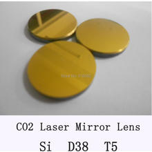 Si Co2 laser mirror 38mm diameter, thickness 5mm,co2 laser mirror for cutting machine