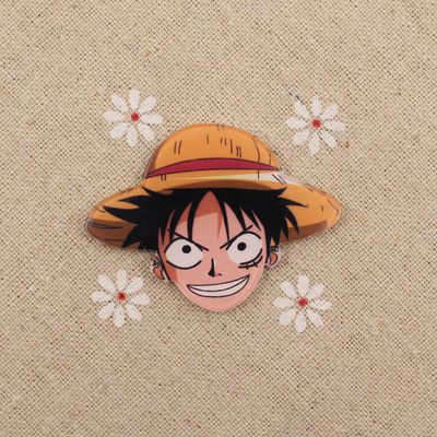Anime ONE PIECE Tony Chopper Cosplay Acrylic Badges Monkey D. Luffy Brooch Pin Backpack Clothes Cute Decoration Brooches (14)