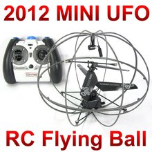 Free Shipping 3 CH 777-286 mini Flying rc UFO ball,remote control small space ball with gyro FSWB