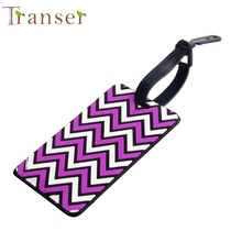 Transer New Fashion Suitcase Label Travel Luggage Tags Baggage Tag Suitcase Identity Address Name Labels