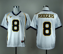 NIKE California Golden Bears Aaron Rodgers 8 College Football Jersey - Navy Blue Size M,L,XL,XXL,3XL
