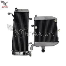 Motorcycle Up & down aluminum Cooling Replacement Radiator For Honda VFR400 NC30 1989 1990 1991 1992 RVF400 NC35 1994 1995 1996