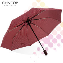 New Automatic Umbrella Rain Women Men 3Folding Light and Durable Strong Colourful Umbrellas Kids Rainy Sunny Wholesale Price