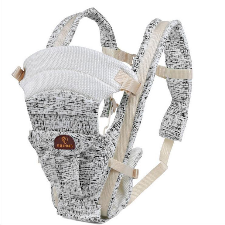 Durable Organic Cotton Baby Carrier Adjustable Newborn Baby Sling Portable Multifunctional Kids Backpack Carriage Wrap F36<br><br>Aliexpress