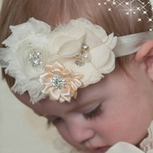 Newborn Headband Hair Bowknot Headbands KIDS Hair Accessories grosgrain ribbon Bow Headband hair bands w--037