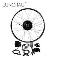 Free Shipping 48V 500W 8fun Bafang Brushless Gear Hub Motor front Wheel Electric Bike Conversion Kit Ebike