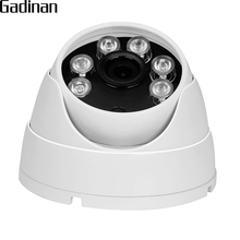 Buy GADINAN Metal Dome Vandalproof IP Camera CCTV H.264 720P/960P, Hi3518E 1080P (H.265 Hi3516CV300) 25FPS ONVIF Surveillance Camera for $21.32 in AliExpress store