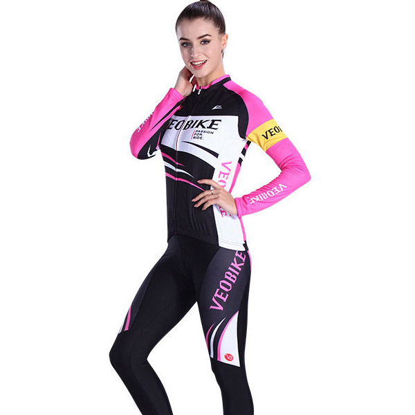 VEOBIKE 2017 cycling jersey women bicycle jersey Jacket cycling clothing sets MTB bike clothes jersey set for girls<br><br>Aliexpress
