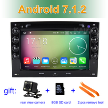 Android 7.1.2 Car DVD Player for Renault Megane 2 ii 2003-2010 GPS Radio Stereo System