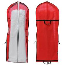 Newest 2017 Storage Bag Cover Clothes Protector Case for Wedding Dress Gown Garment  Levert Dropship dig6429