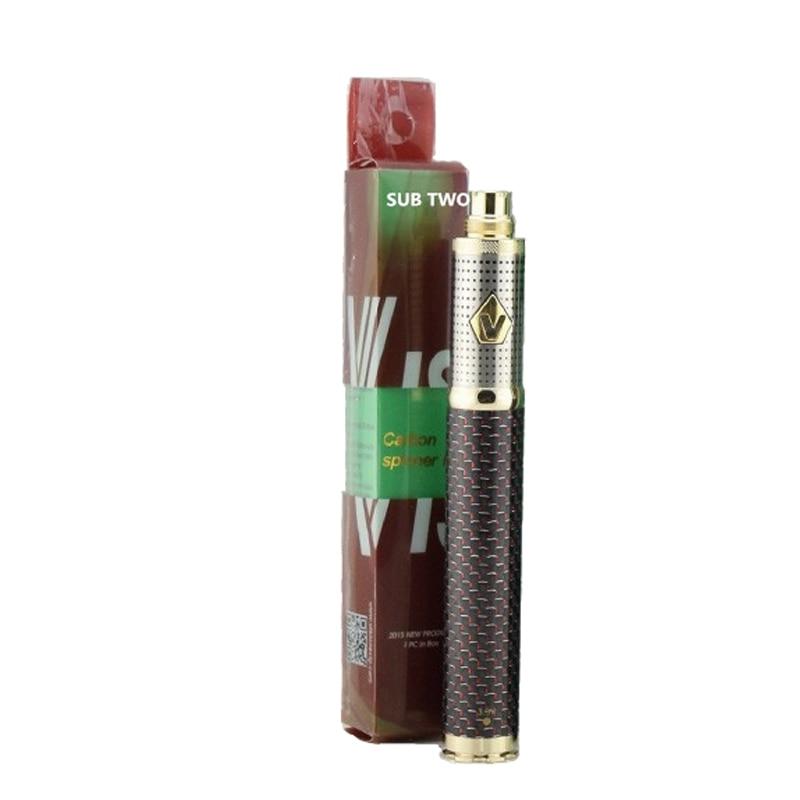 High quality E Cigarette Carbon fiber vision 3 With Adjustable Voltage 1600mah Battery E Cig Vaporizer Starter Kit vape pen