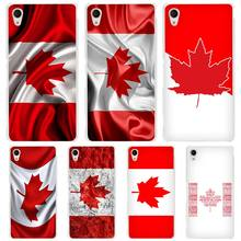Canada Flag hard Transparent Case Cover Coque for Sony Xperia z1 z2 z3 z4 z5 m4 aqua m5 XA