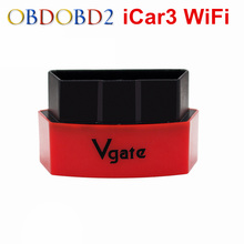 Vgate iCar3 Wifi ELM327 Wifi OBD2 Code Reader Scanner Support OBDII Protocol Vehicle iCar 3 Scan For IOS/Android/PC ELM327 WIFI