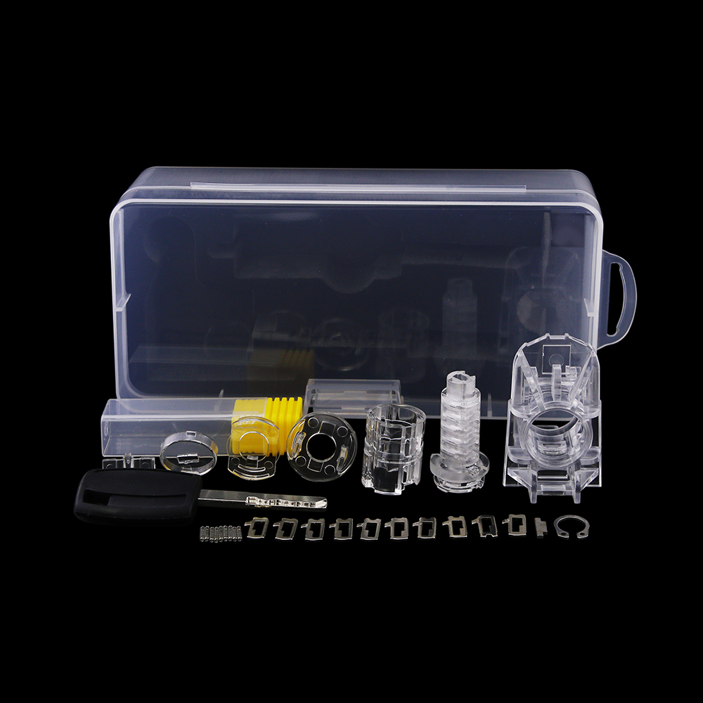 2017 Hot Sale !Accessories to DIY Assemble Transparent FORD Car Lock Cylinder for Locksmith or Beginners Practice<br>