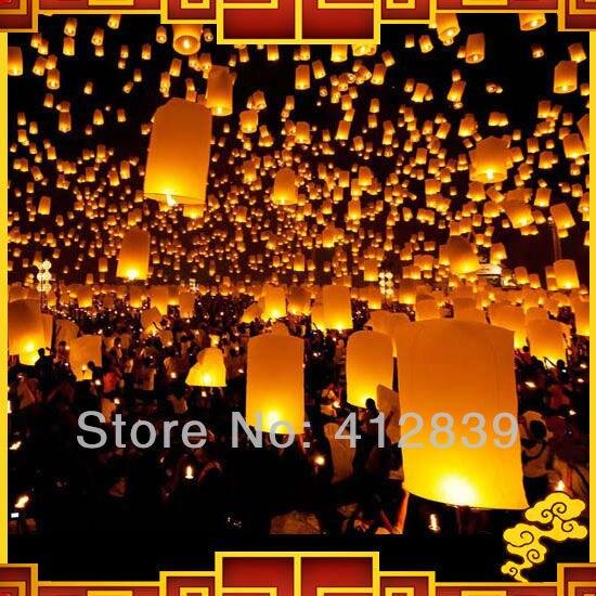 15pcs/Lot Mix Color Sky Lanterns, KongMing Lanterns,Chinese Lanterns for wedding Oval Shape 8 Colors