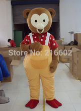 High quality Professional Cartoon Character Teddy Bear Mascot Costume  Halloween Party Costumes