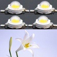 High Power 10pcs 3w 45mil 700mA White Full Spectrum 380~780nm SMD LED Diodes Light For Plant Grow Light
