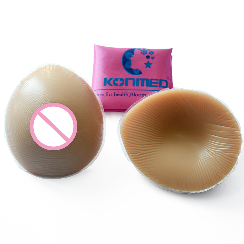 600 g/pair B Cup Brown Color Silicone Breast Forms Artificial Silicone Fake Breast For Small Breast Woman Enhancers<br>