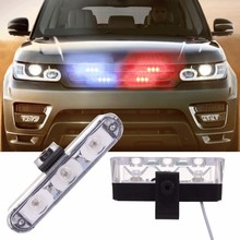 Buy Best 2x3 led Ambulance Police Strobe light Car Truck DRL Emergency Flashing Firemen DC 12V Auto LED Warning Day light for $7.56 in AliExpress store