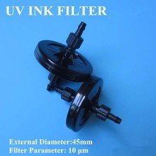 10 pcs Black UV Filter for Solvent ink for Large Format Printer for Spectra, Konica Minolta, Ricoh, Xaar