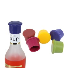5Pcs/Lot Bottle Stoppers Food Grade Silicone Beer Cover Wine Caps Bar Accessories Preservation Dust Proof Tool Practical Tool(China)