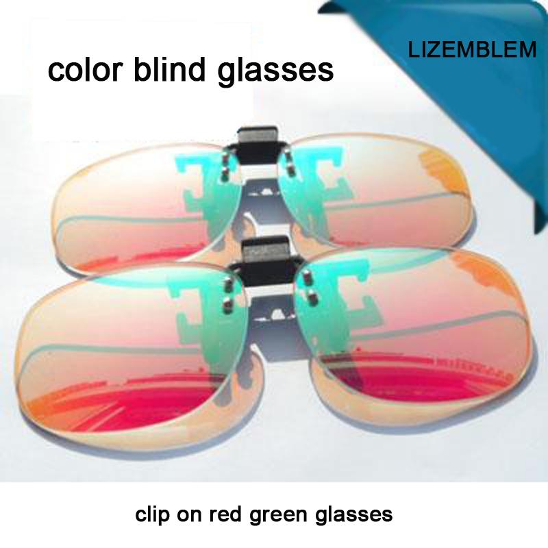 Satın Al Kırmızı Yeşil Renk Körlüğü Gözlük Erkekler Kadınlar Güneş