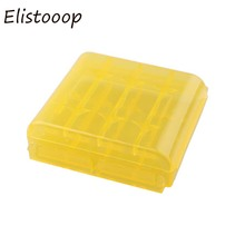Elistooop Plastic Case Holder Storage Box Cover for 10440 14500 AA AAA Battery Box Container Bag Case Organizer Box Case(China)