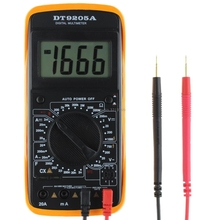 New DT9205A Digital Multimeter LCD AC/DC Ammeter Resistance Capacitance TesterFor Promotion(China)
