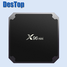 X96 MINI Android 7.1.2 Mini TV Box S905W Quad-core 2.4GHz WiFi Max 2G RAM 16GB ROM Media Player Support 4K Even 3D HD movies 1pc