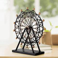 Ferris wheel European style living room decoration Home Furnishing retro iron wheel model creative decorative gift wedding #20(China)