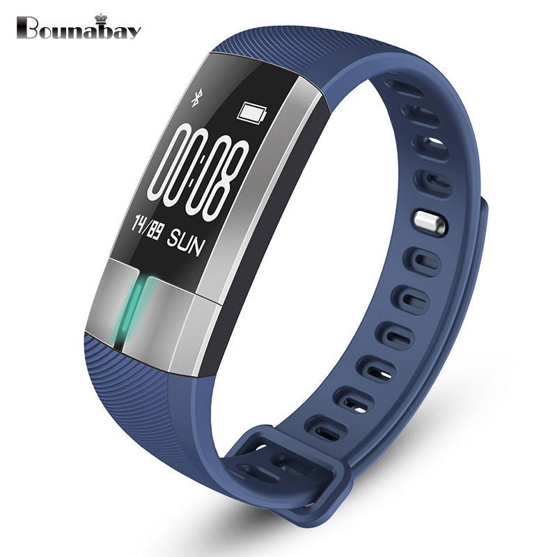 BOUNABAY Heart Rate Pedometer Bluetooth 4.0 Smart woman watch for apple android phone waterproof Camera women Clock Touch Clocks<br>