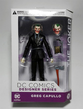 DC COMICS Designer Series DC Collectibles Batman The Joker by Greg Capullo PVC Action Figure Collectible Model Toy 16cm KT3142(China)