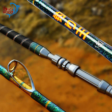 Superhard 1.8m Ocean Rock Boat Fishing Rod High Quality Deep Sea Stainless Steel Fishing Pole For Saltwater Big Games