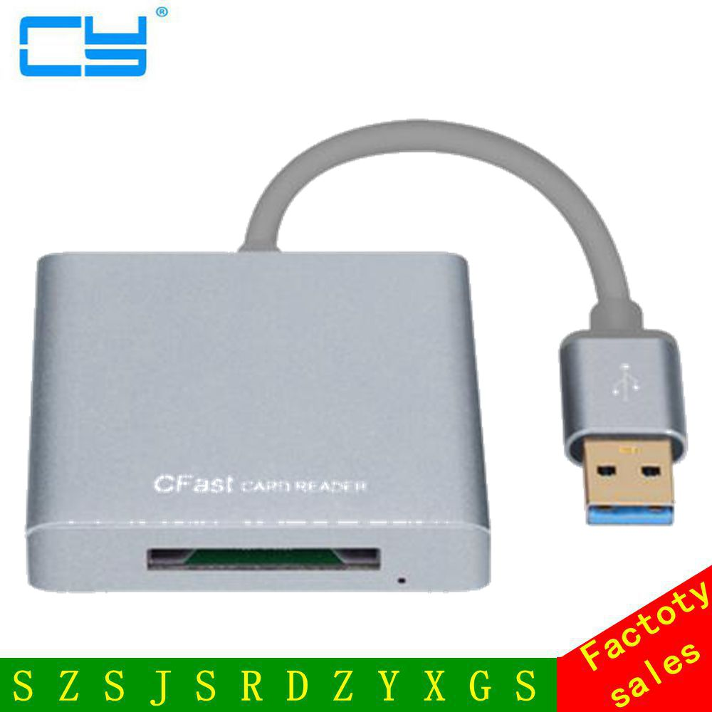 Professional USB 3.0 to CFast Card CFast 2.0 USB 3.0 Reader Writer Slot Adapter High Speed 5Gbps<br>
