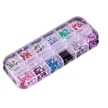 3600pcs Nail Art rhinestones decoration for uv gel acrylic systems 1.5mm 2017 New  Hot Sell