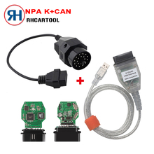 Car Stlying for BMW INPA K can inpa k dcan USB OBD2 Interface INPA Ediabas for BMW with 20pin Connector!!! 20 pin Free Shipping(China)