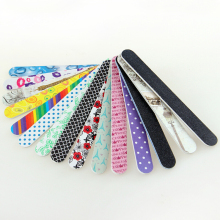Random Color!! 4 Pcs/Lot New 2-Side Nail Art Acrylic Polish Grind Sand File Block Buffer Make Up Manicure Tool(China)