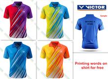For wholesale new badminton shirt badminton clothes table tennis shirt table tennis clothes T shirt sport shirt clothes