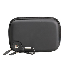 5.2 Inch Hard GPS Car Case Cover Carrying Bag Protection Zipper Cover Pouch for GPS Garmin Nuvi Black