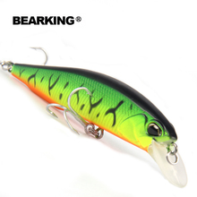 Bearking quality hot fishing lures Minnow 100mm 14.5g dive0.8-1.5m hard baits fishing tackles promotion 10colors available