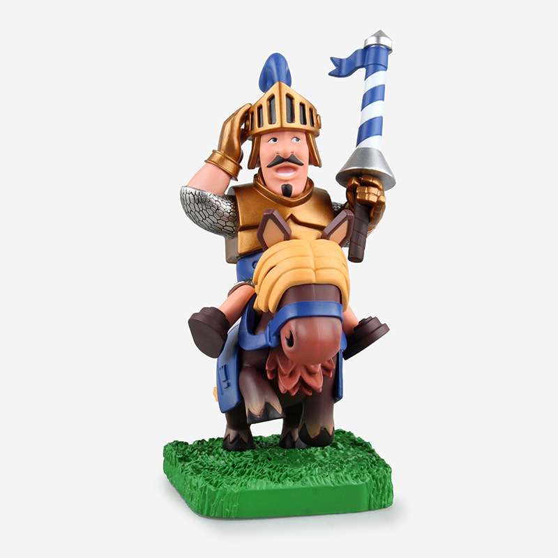 Clash Royale Prince Knight PVC Figure Collectible Model Toy 16.5cm<br><br>Aliexpress