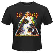 Print T Shirt New Cute Def Leppard 'Hysteria' Design T Shirt Cool Summer Tiger Printed Tops High Quality Casual Tee