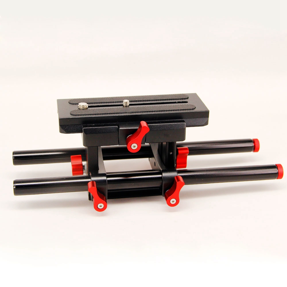 DSLR Rail 15mm Rod Support System Quick Release Canon Nikon Follow Focus DSLR Camera 5D2 5D3