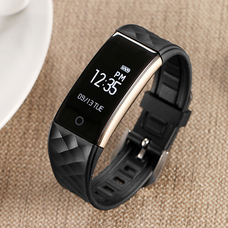 Bluetooth Smart Watches Wristband Sleep Heart Rate Monitor Bracelet IP67 Waterproof Smart Wrist Bracelet For Android IOS Phone <br>
