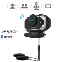 Headphones Helmet Bluetooth-Headset Radio Easy Rider Motorcycle-Stereo Vimoto V8 2