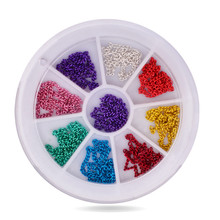 3D Metal Chain Nail Art Decoration,12cm Mix 9colors Stylish Design Nail Tips Tools Decor,DIY Nail Beauty Accessories