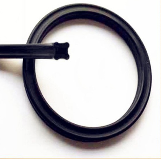 1pc 272.4/278.77/506.86/532.26/329.57/494.16*6.99 IDxCS 6.99 Black Pump Piston U Lip Seal Nitrile Rubber NBR X Quad Ring Gasket<br><br>Aliexpress
