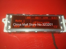 screen support USB and Bluetooth Display red monitor 12 pin for Peugeot 307 407 408 citroen C4 C5(China)