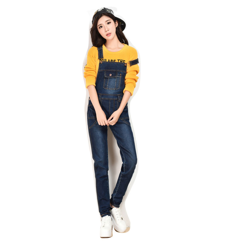 Aliexpress Monikubu Women S Fashion Casual Plus Size Clothing Pants Blue Denim Jeans Trouses Overalls Jumpsuit For Female Woman In From